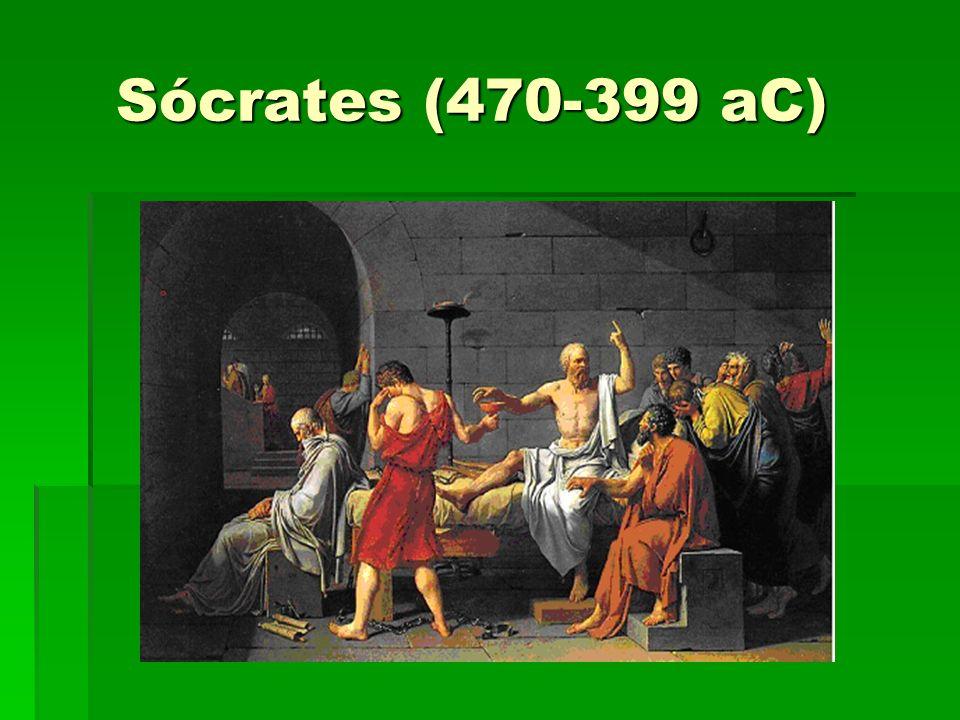 Sócrates (470-399 aC) Sócrates (470-399 aC)