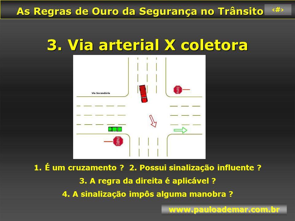 As Regras de Ouro da Segurança no Trânsito As Regras de Ouro da Segurança no Trânsito www.pauloademar.com.br 87 4.