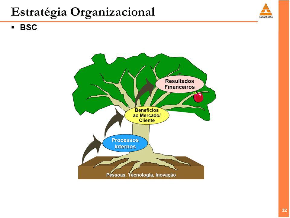 22 Estratégia Organizacional BSC
