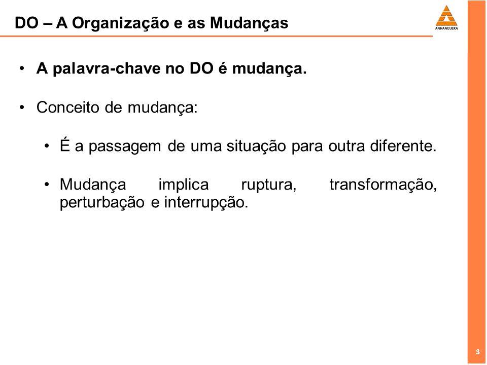 4 4 Processo de mudança: A cultura organizacional é um dos aspectos fundamentais no processo de mudança, pois a cultura da empresa influencia o comportamento dos indivíduos.