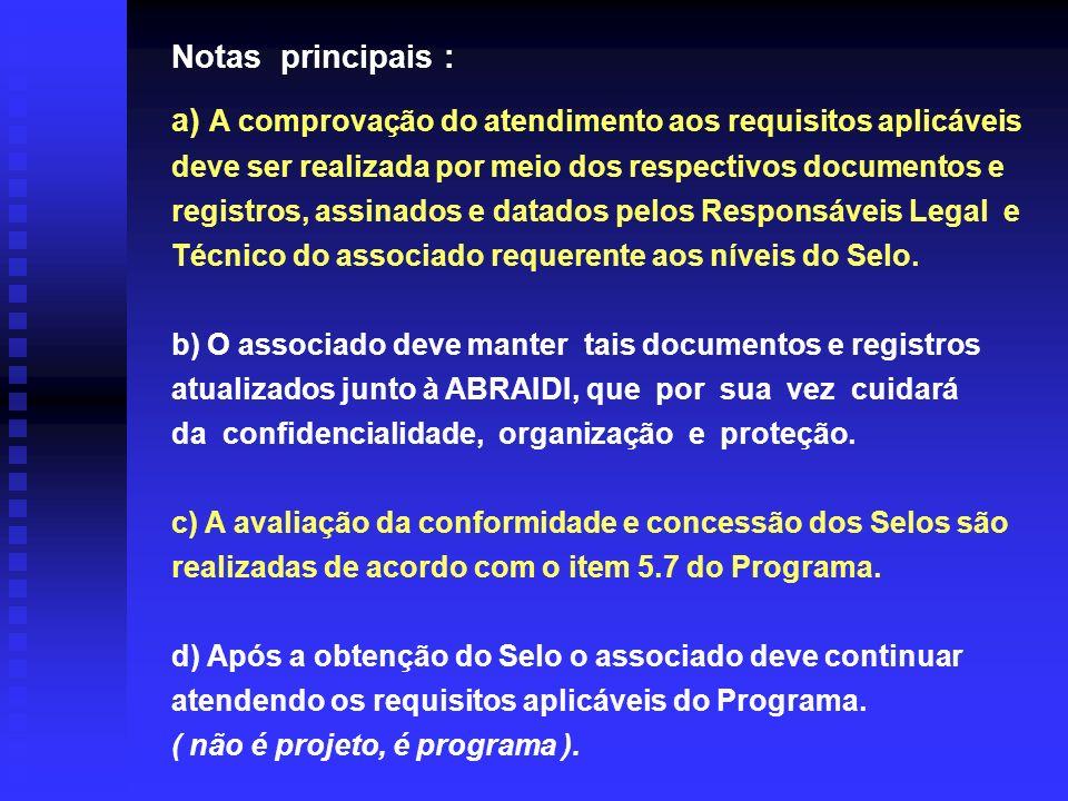 a) A comprovação do atendimento aos requisitos aplicáveis deve ser realizada por meio dos respectivos documentos e registros, assinados e datados pelo