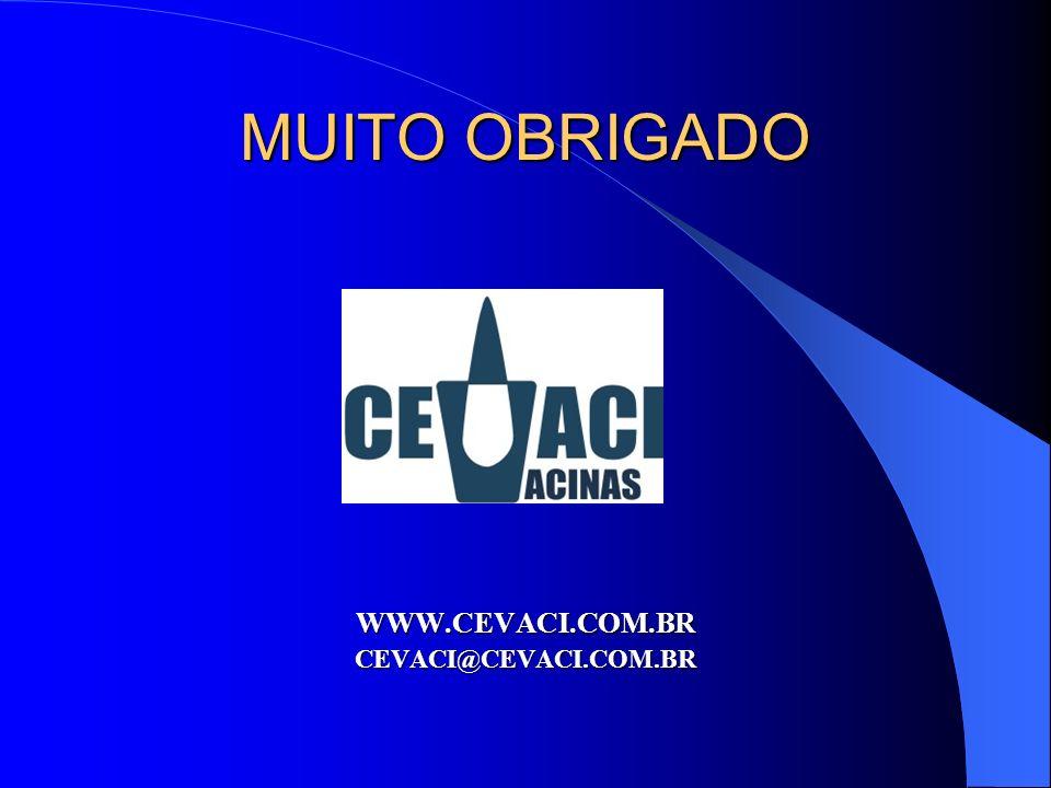 MUITO OBRIGADO WWW.CEVACI.COM.BRCEVACI@CEVACI.COM.BR