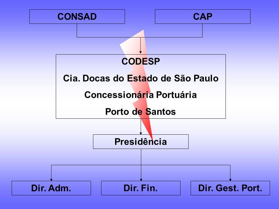 LEI No. 8.630/93 Modernização dos Portos Cisão CODESP Como fica a regionalização após a CISÃO ? O processo de regionalização do Porto de Santos poderi