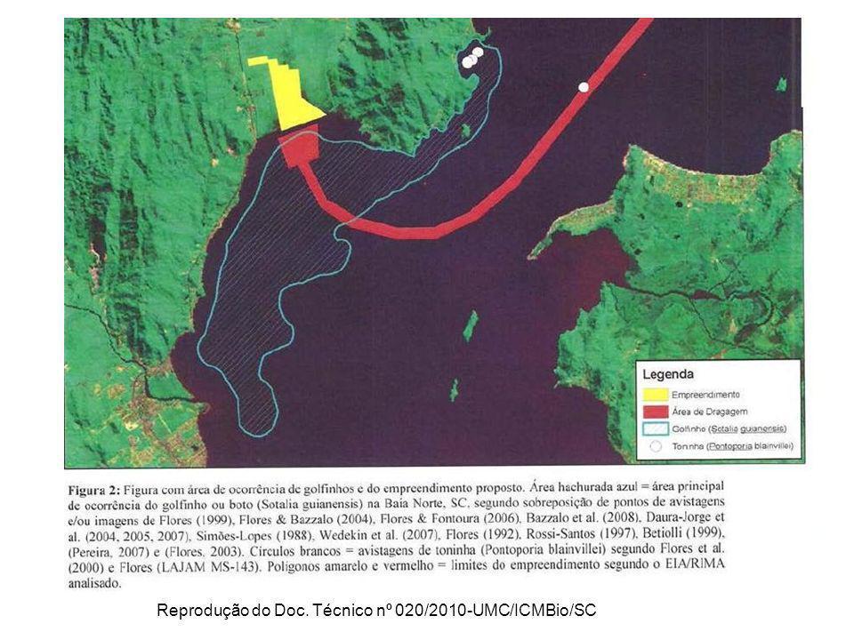 Reprodução do Doc. Técnico nº 020/2010-UMC/ICMBio/SC