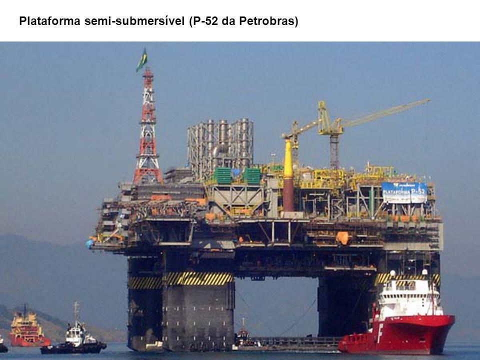 Plataforma semi-submersível (P-52 da Petrobras)