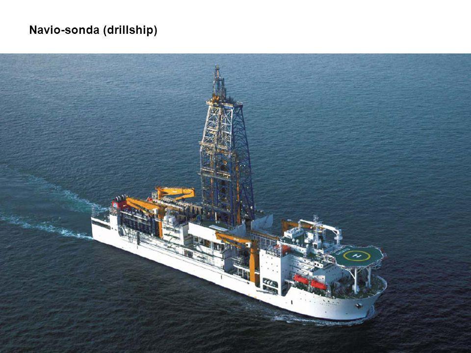 Navio-sonda (drillship) Reprodução EIA/RIMA - OSX