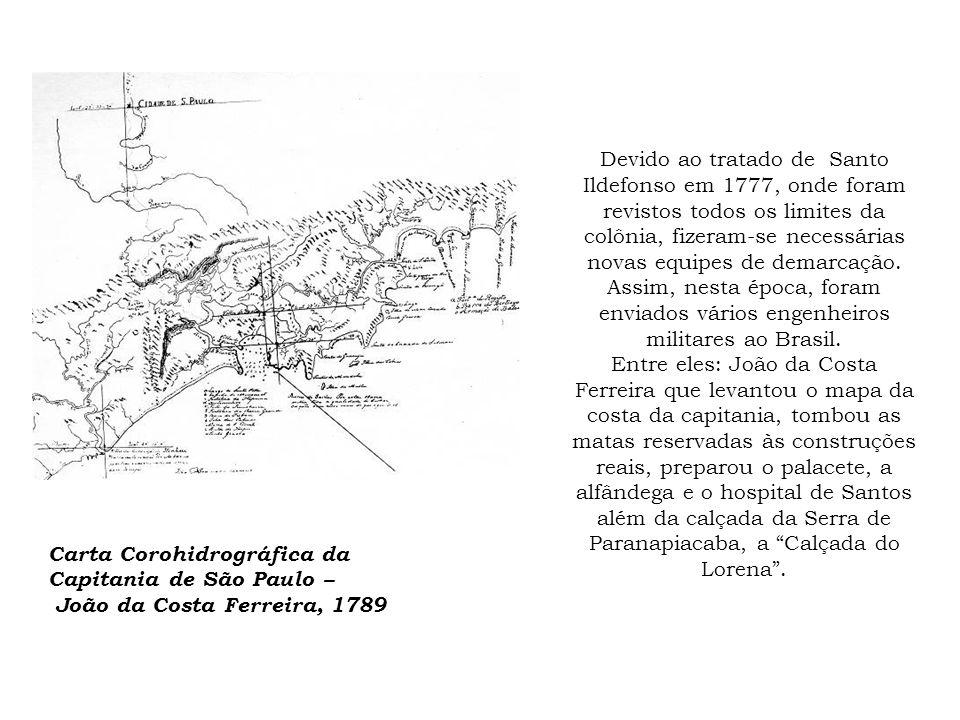 Devido ao tratado de Santo Ildefonso em 1777, onde foram revistos todos os limites da colônia, fizeram-se necessárias novas equipes de demarcação. Ass