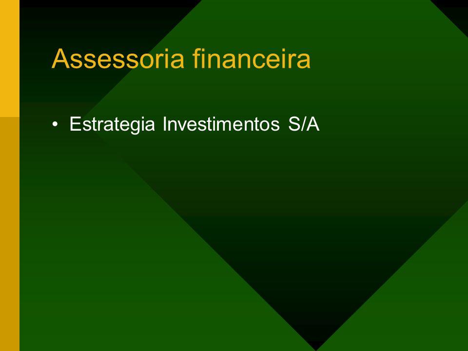 Assessoria financeira Estrategia Investimentos S/A
