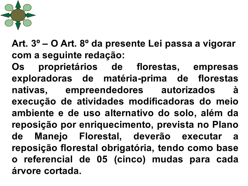 Art. 3º – O Art.