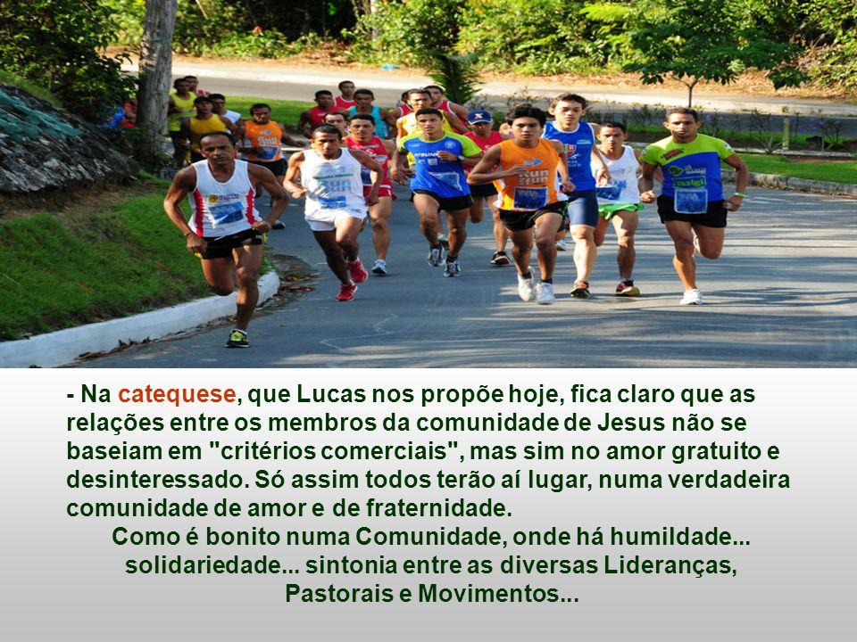 Na Igreja, também existe a corrida pelos primeiros lugares? A Igreja deve ser a comunidade onde se cultivam a humildade, a simplicidade, o amor gratui