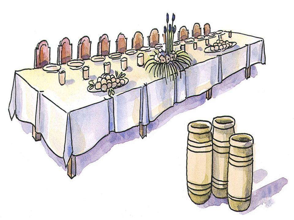 + A 1ª é para os convidados que escolhiam os primeiros lugares: Aquele que ocupou o primeiro lugar teve de cedê-lo a um mais importante. Aquele que oc
