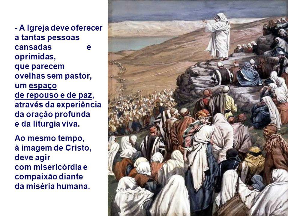 Quem são os Pastores hoje? Pastores são todas as pessoas que têm responsabilidades na família, na escola, na catequese, nas pastorais, na sociedade...