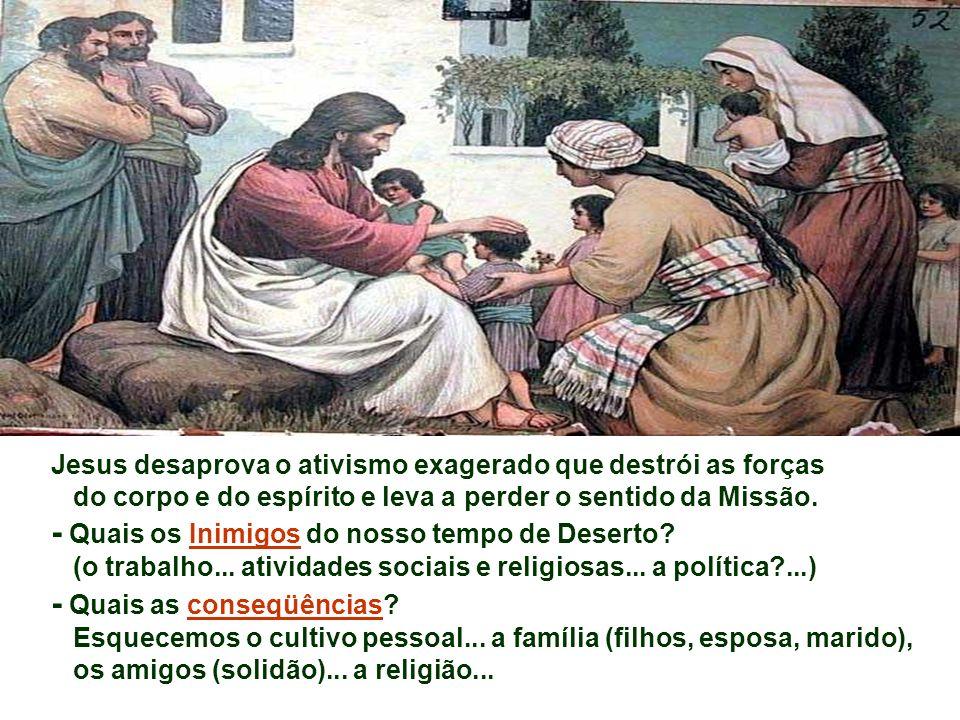 - Indica que anunciar a Boa Nova de Jesus não é só uma questão de doutrina, mas antes de acolhida, de bondade, de ternura, de disponibilidade, de reve