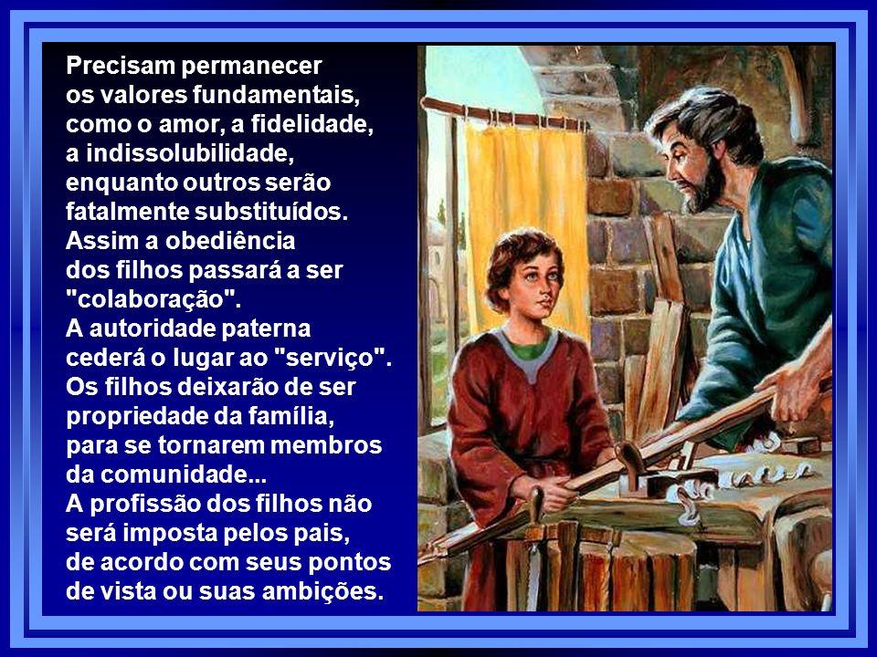 A Família não é mais aquela: Sobre o tema, o Pe. Virgílio escreveu um belo artigo, que apresento em parte: Não adianta se iludir: a família cristã não