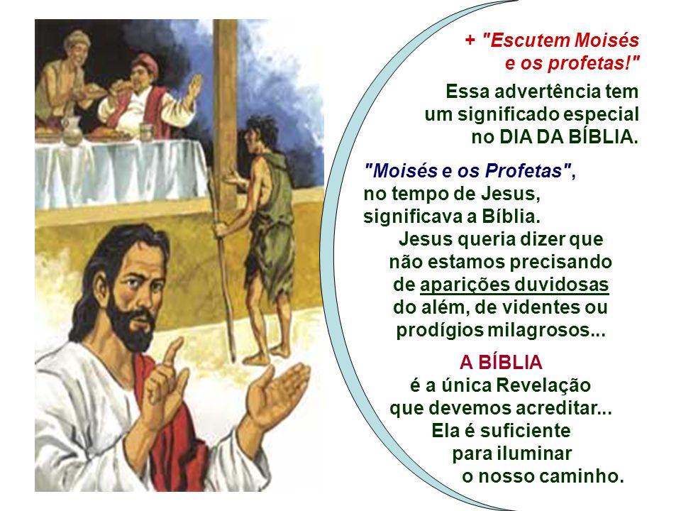 O pobre se salva por estar aberto a Deus e espera a Salvação. A pobreza não levou Lázaro ao céu, mas a humildade, e as riquezas não impediram o rico d