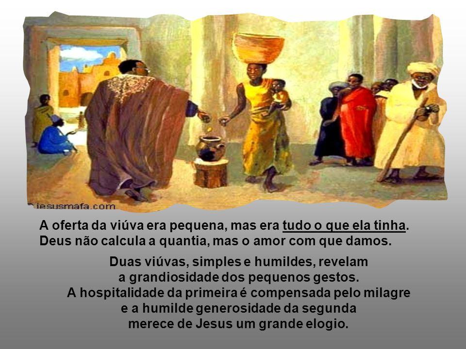 A 2ª Leitura nos apresenta o Exemplo de Cristo, o Sumo Sacerdote, que se doa inteiramente pela salvação da Humanidade. (He 9,24-28) No Evangelho, vemo