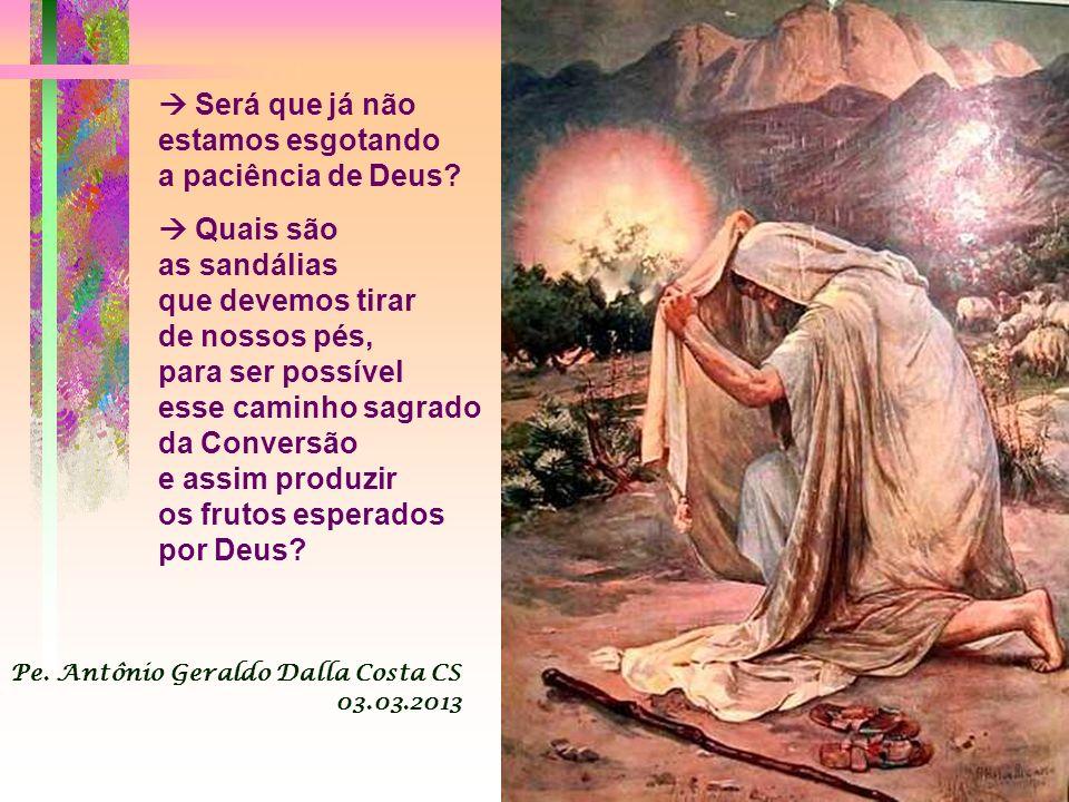 A Liturgia de hoje é: - Um forte apelo à conversão, que se manifesta através de boas obras, que correspondem ao amor generoso do Pai. - Uma advertênci