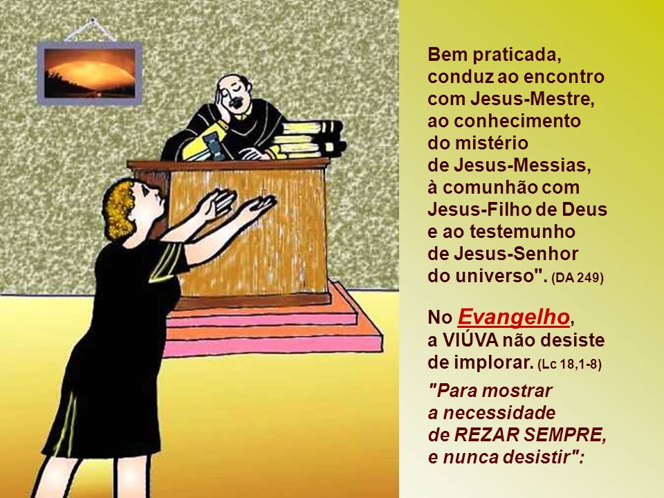 * A Bíblia é o fundamento da fé e o vigor das comunidades. A É vital ao homem de Deus e aos ministros da Palavra, instrução bíblica e uma preparação c