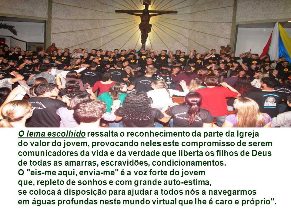 Objetivos específicos: - Proporcionar aos jovens um encontro pessoal com Jesus Cristo a fim de contribuir para sua vocação de discípulo missionário e
