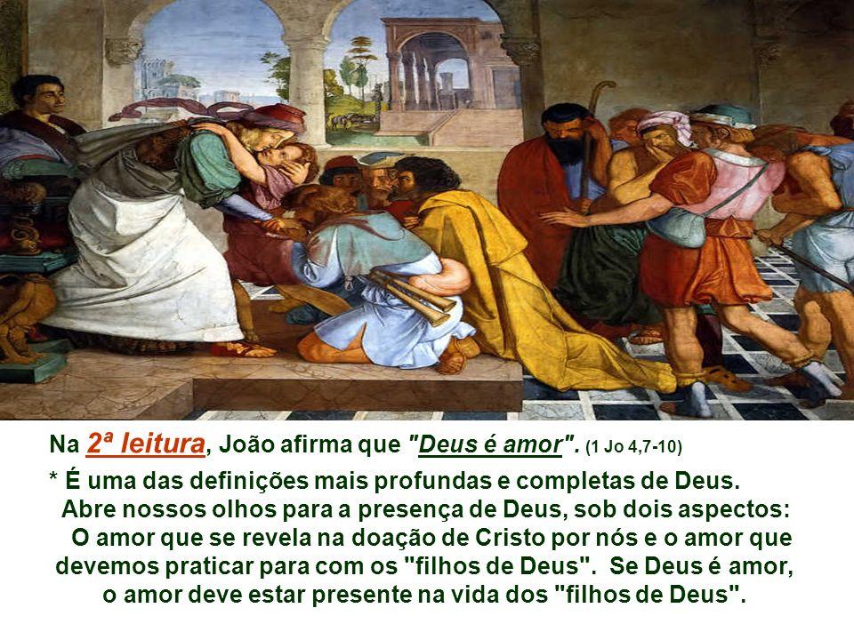Na 1ª Leitura Pedro na casa de Cornélio anuncia Jesus e sua ação salvífica. Cornélio e sua família acolhem o anúncio e são batizados. (At 10,25-26.34-