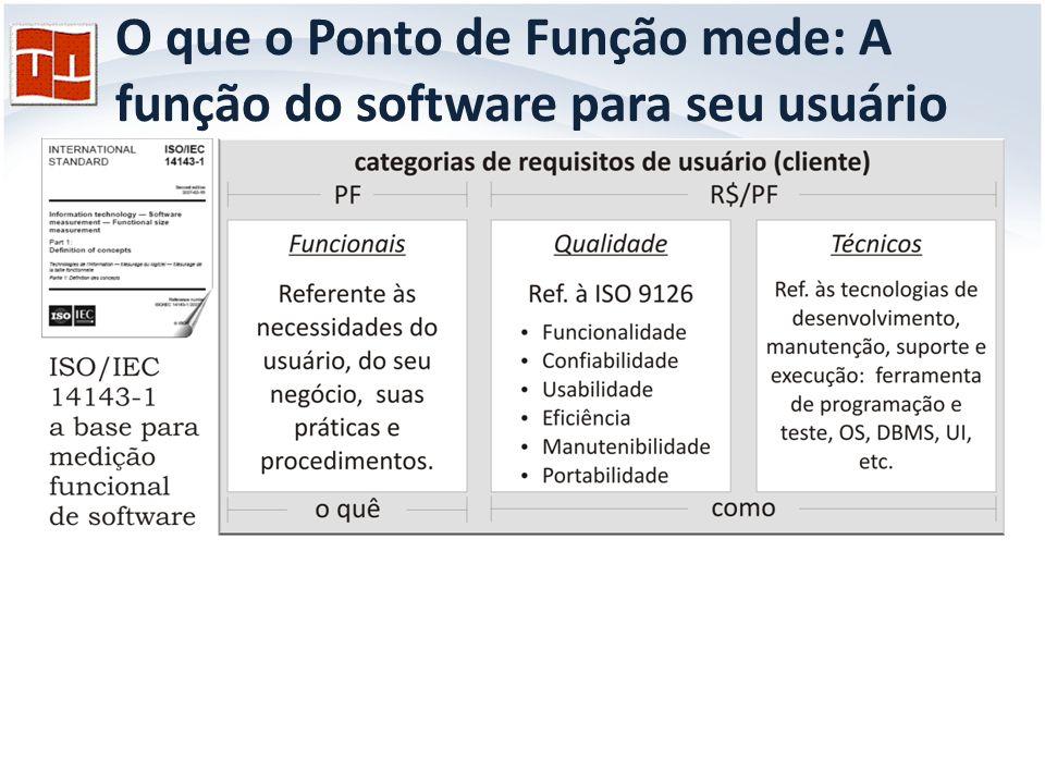 O Usuário / Cliente e a sua Visão: Como definido pelo IFPUG