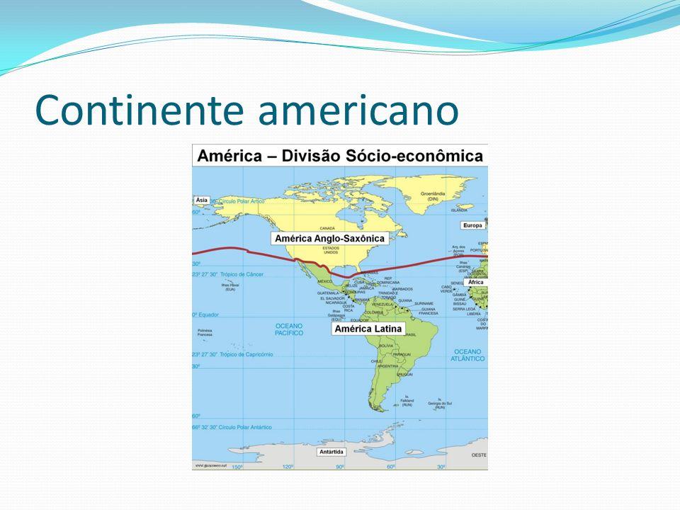 O que é América Latina.