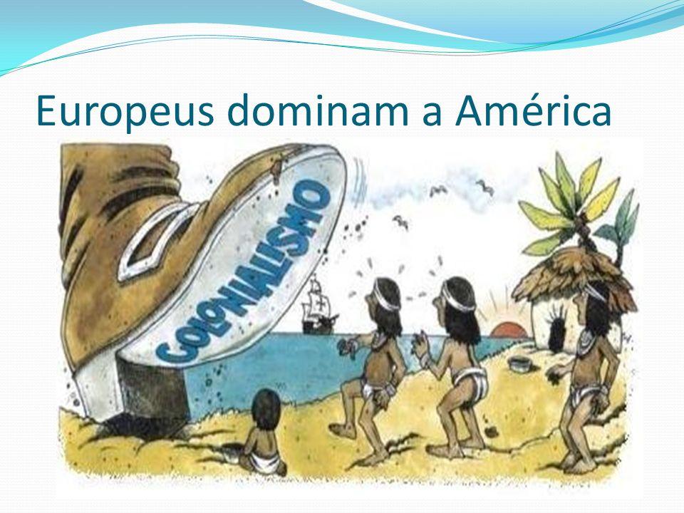 Algumas características específicas da formação da América Latina.