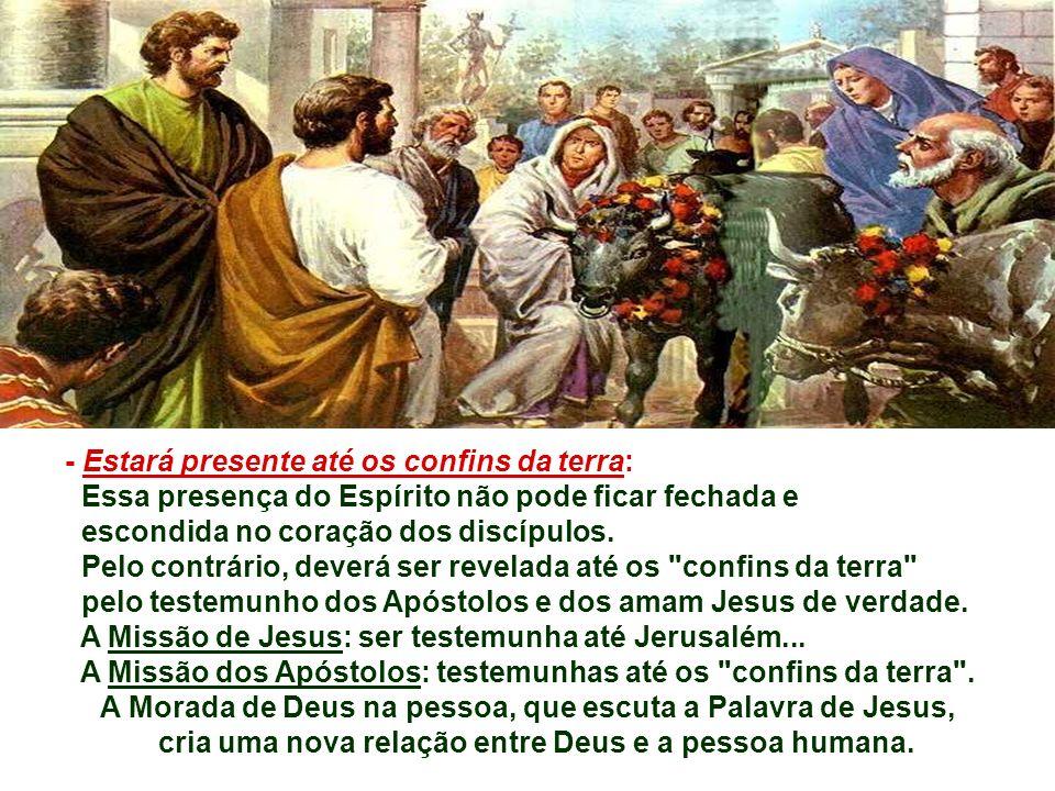No tempo de Jesus: Morada de Deus era o Templo de Jerusalém... - Para CRISTO, Morada de Deus pode ser o coração de todo cristão: