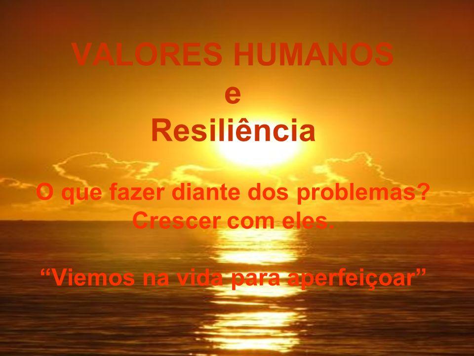 A palavra resiliência tem a ver com enfrentar as adversidades,desafios que aparecem na nossa vida, se transformar para melhor, dar a volta por cima; é a capacidade de regeneração do ser humano.