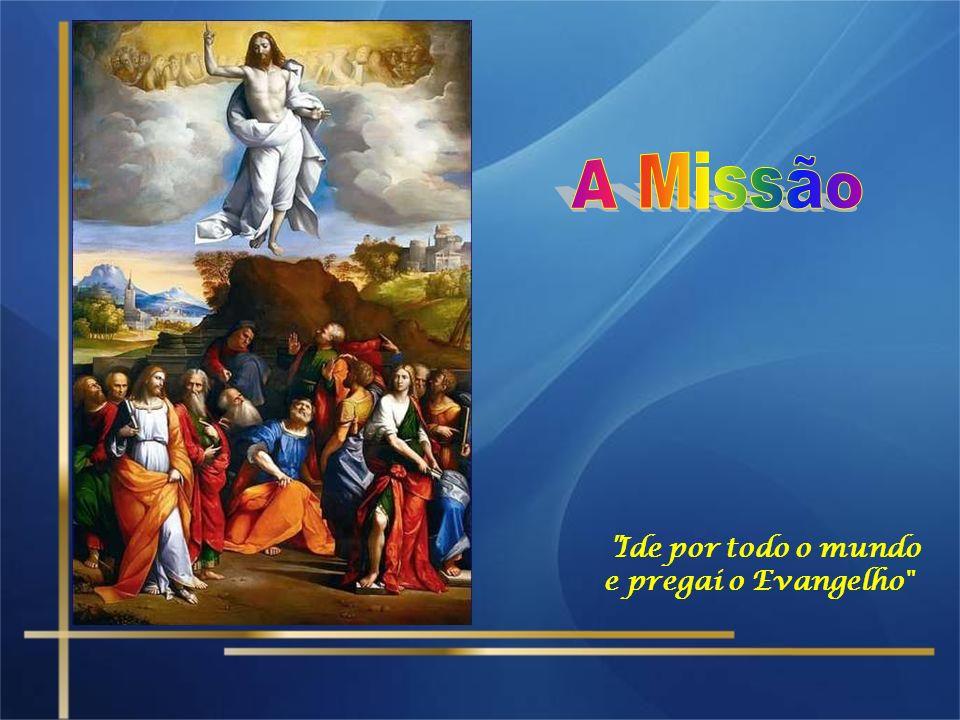 O olhar dos apóstolos, voltado para o céu, simbolizava a esperança de uma volta imediata de Jesus, o desejo de que ele retomasse a obra interrompida.