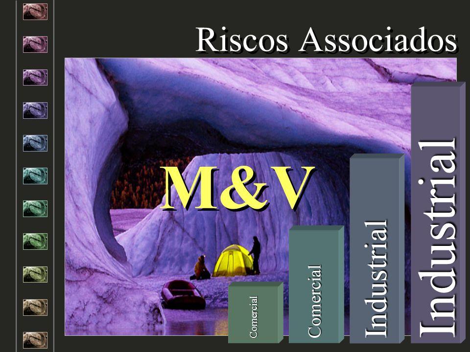 Riscos Associados M&V Industrial Industrial Comercial Comercial