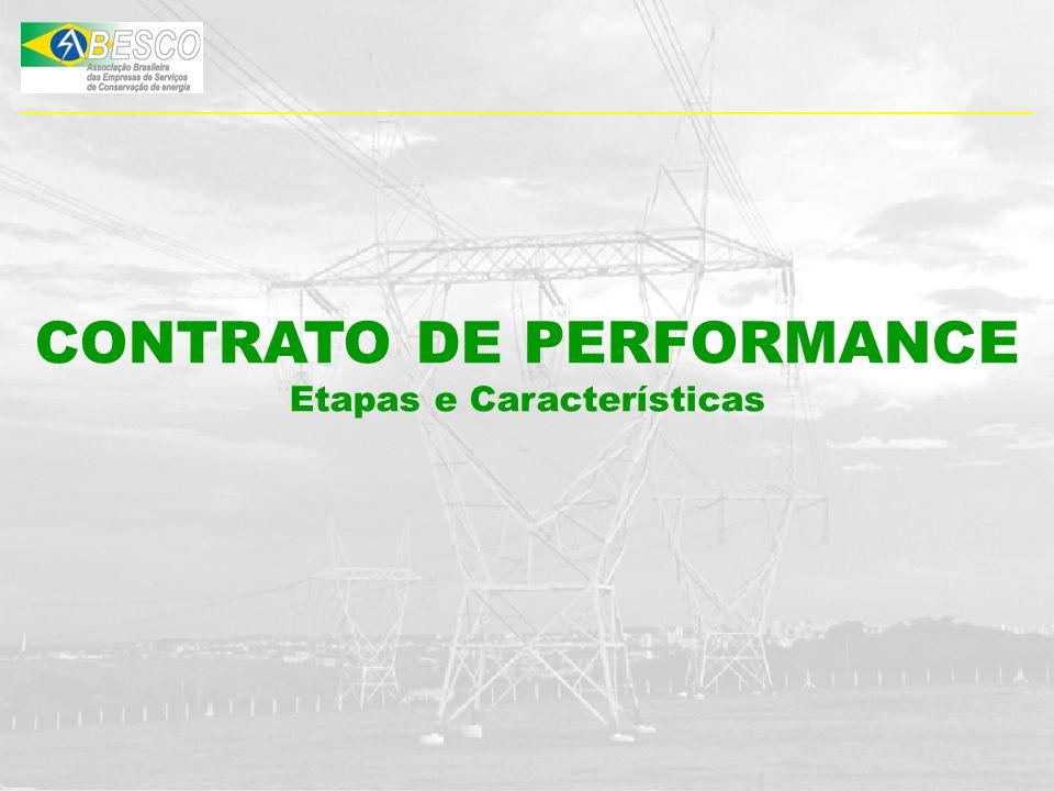 CONTRATO DE PERFORMANCE Etapas e Características