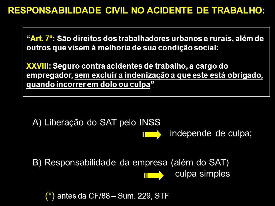 Prescrição: - pretensão de direito civil = 3 anos (art.