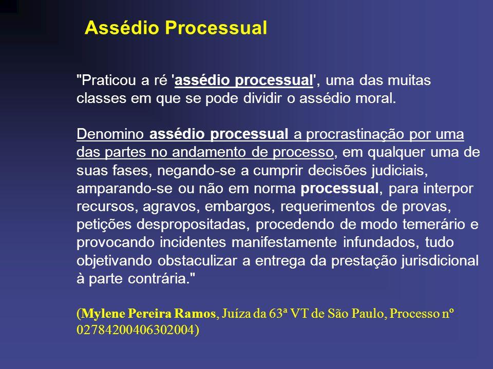 Assédio Processual