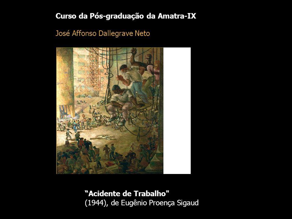 Curso da Pós-graduação da Amatra-IX José Affonso Dallegrave Neto Acidente de Trabalho