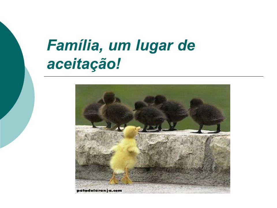 Família Cristã: indivíduos vinculados pelo sangue e/ou pela afetividade tentando viver em coletividade harmônica.