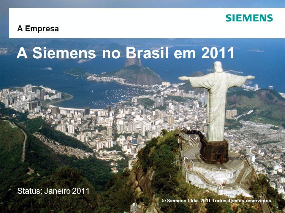 © Siemens Ltda.2011.Todos direitos reservados.