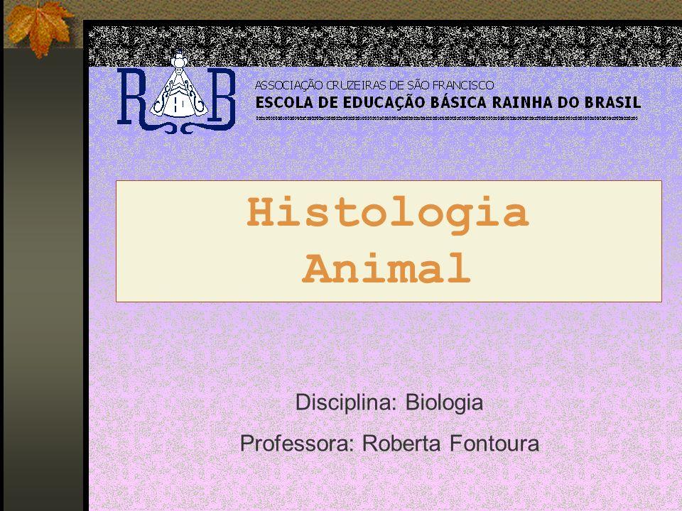 Histologia Animal Disciplina: Biologia Professora: Roberta Fontoura