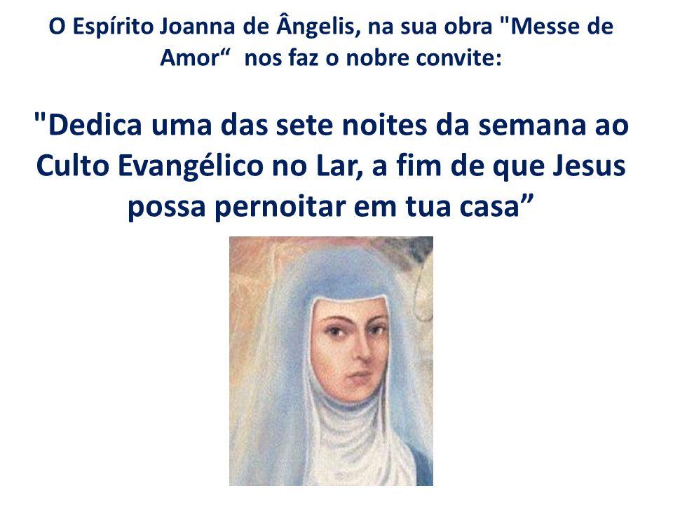O Espírito Joanna de Ângelis, na sua obra