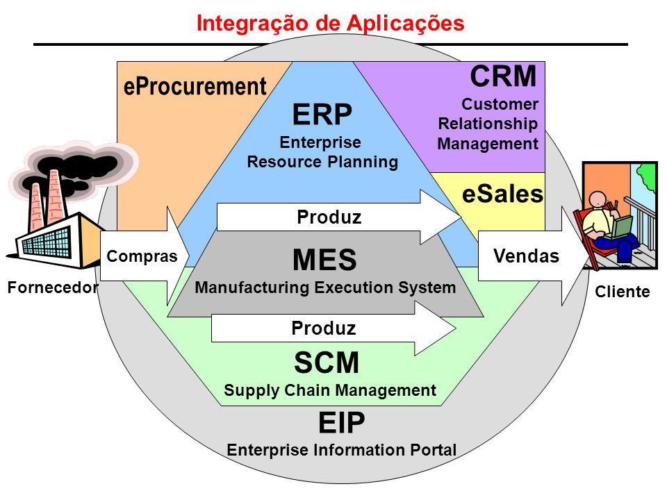 Integração de Aplicações EIP Enterprise Information Portal eSales eProcurement Company CRM Customer Relationship Management ERP Enterprise Resource Pl