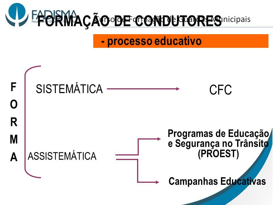 - nenhum parceiro detém o controle do processo 4 - COMPARTIMENTAÇÃO DO SISTEMA EXEMPLO CNH: Quem forma não avalia (CFC) Quem avalia não processa (FATE