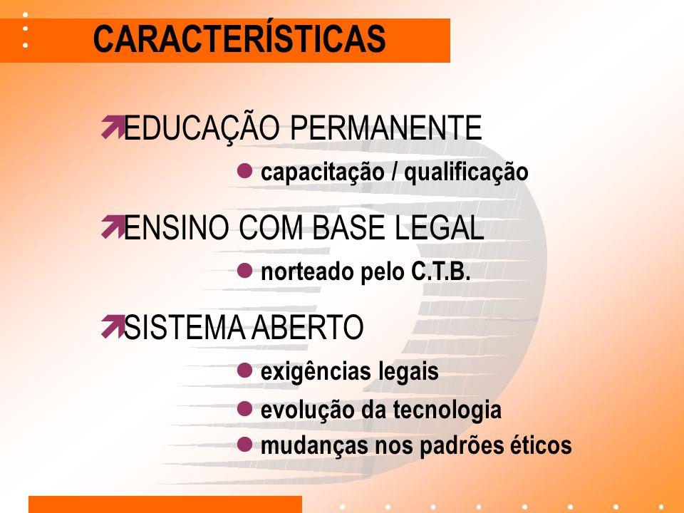 ÁREAS DE ATUAÇÃO HABILITAÇÃO CAPACITAÇÃO QUALIFICAÇÃO categorias A e B (implantada) mudança / adição de categoria (implantada) transporte de escolares