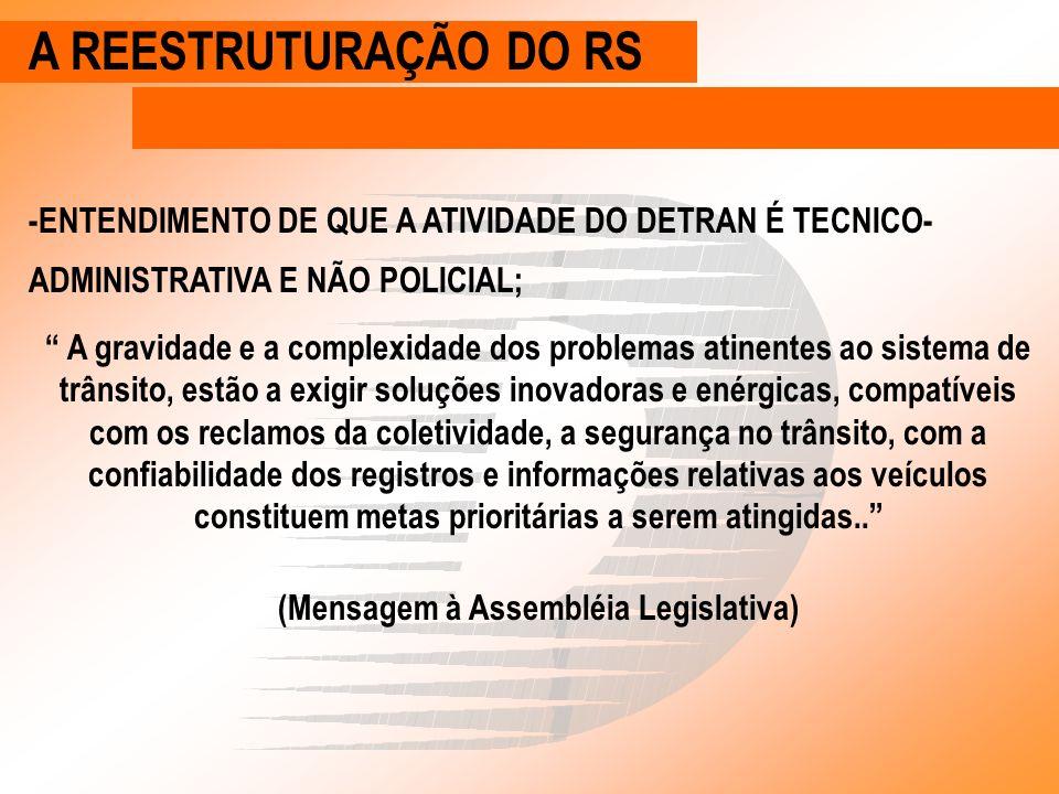 REGISTRO DE VEÍCULOS O SISTEMA RENAVAM A EXPOSIÇÃO DE MOTIVOS DA RES 664/86 -... necessidade de assegurar maior segurança e confiabilidade na emissão