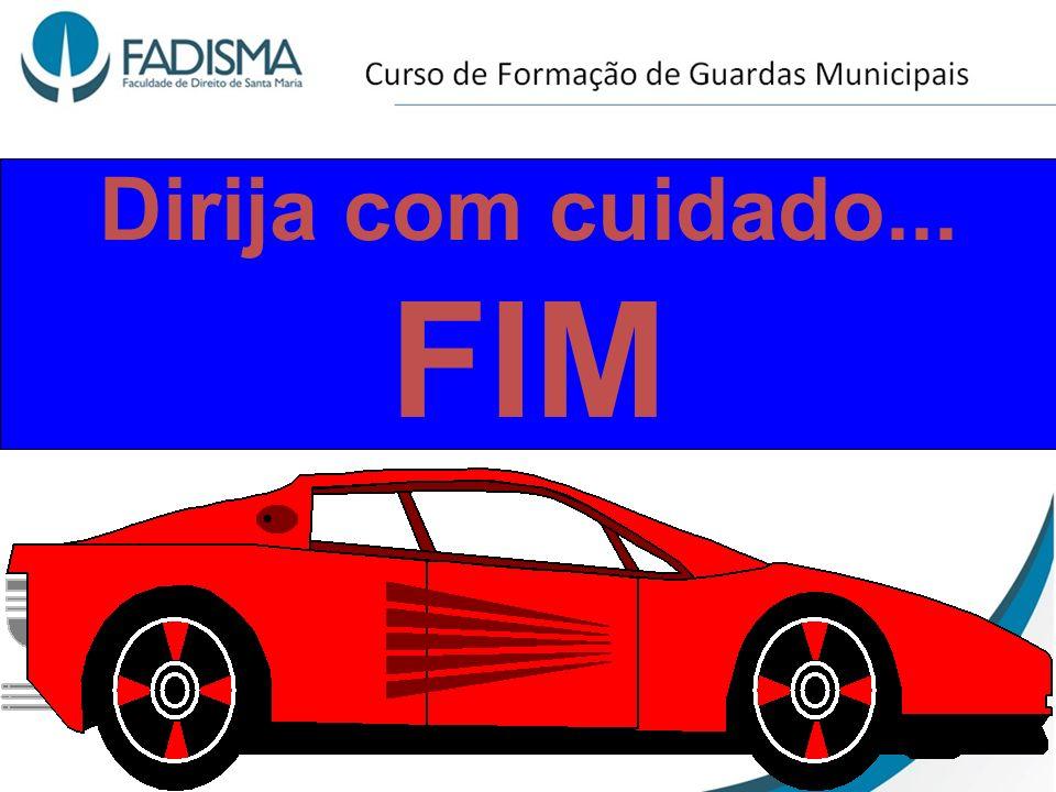 Dirija com cuidado... FIM