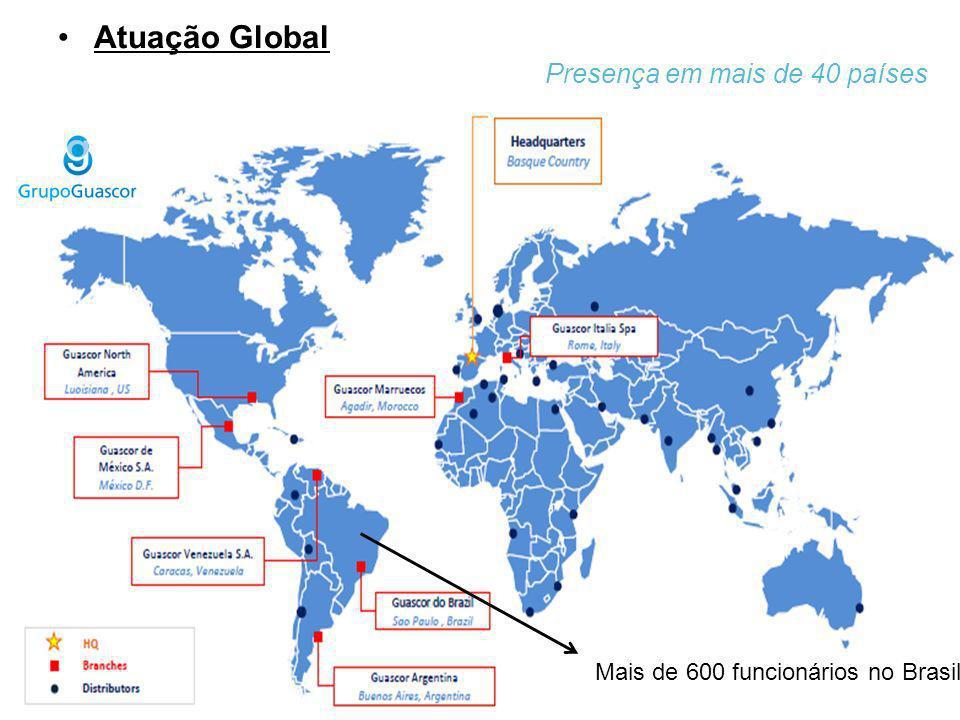 Atuação Guascor Power no Brasil Geração de Energia - Área Isolada 70 usinas (próprias) + 400 motores em operação + 600 funcionários Atuação Comercial – Motores e Solução Completa Guascor Serviços – Implantação/Engenharia e O&M Logística e Peças de Reposição – Equipe especializada