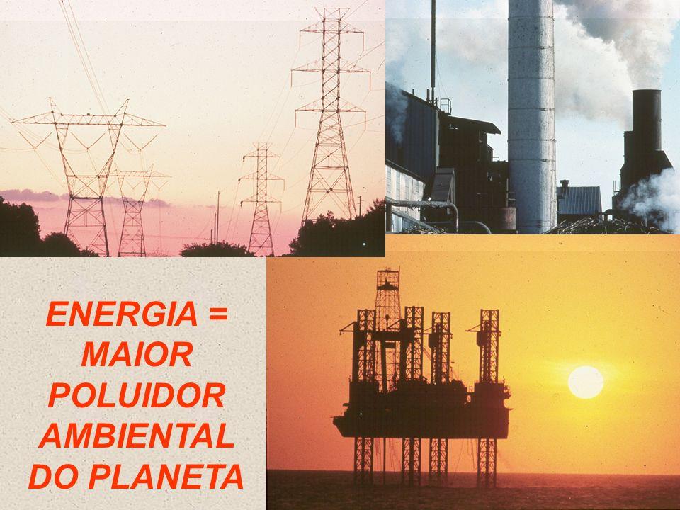 ENERGIA = MAIOR POLUIDOR AMBIENTAL DO PLANETA