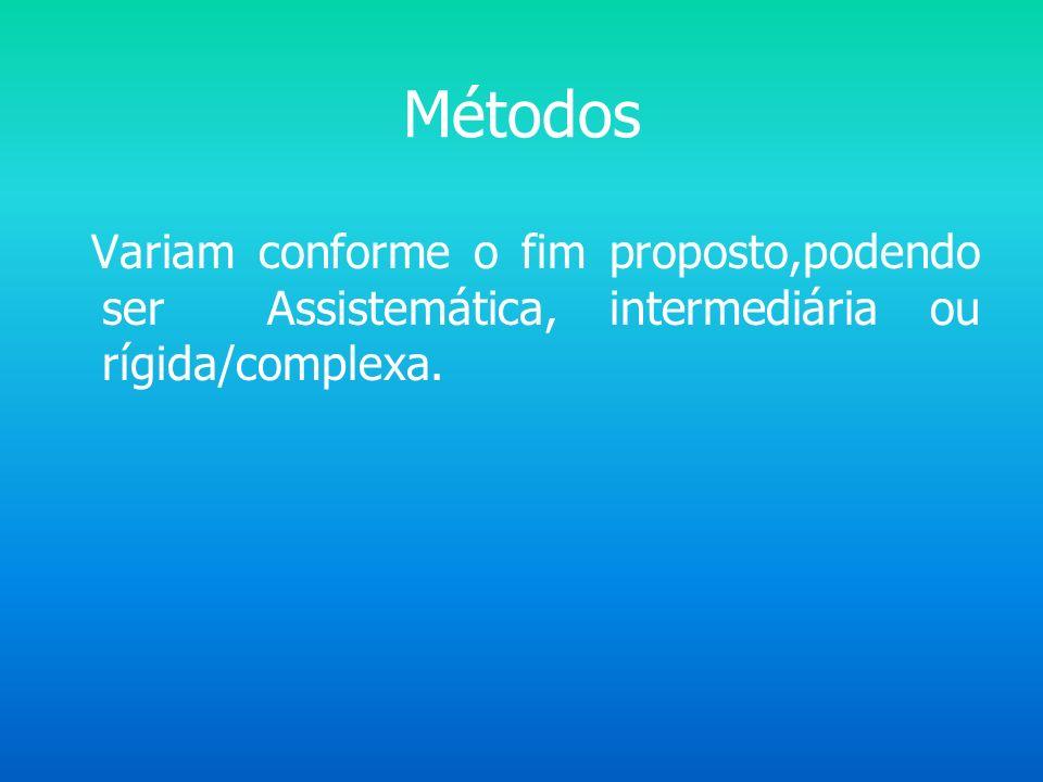 ETAPAS /PLANEJAMENTO Escolha do método a ser utilizado Elaboração de formulário Encaminhamento dados para solução do problema