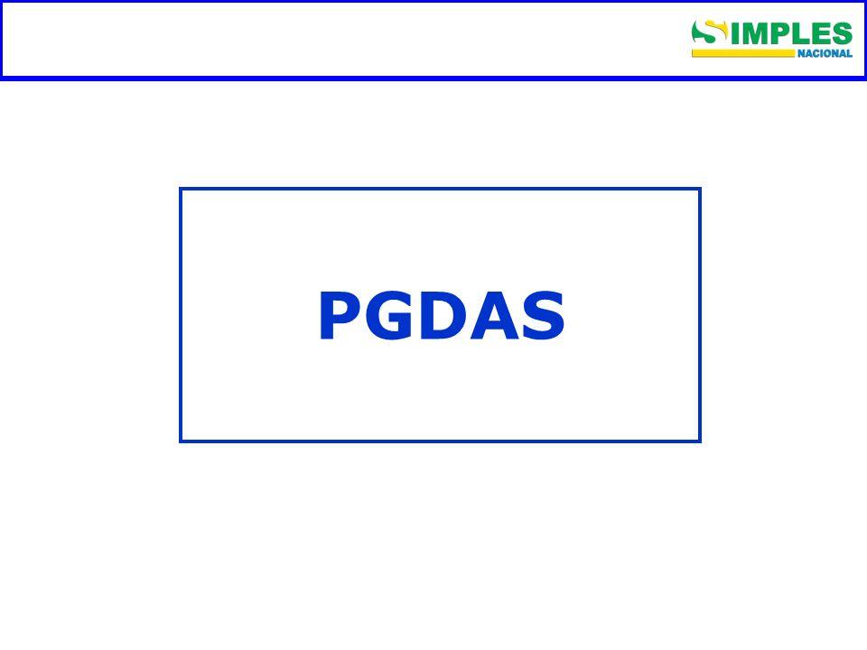 Fundamentação legal PGDAS