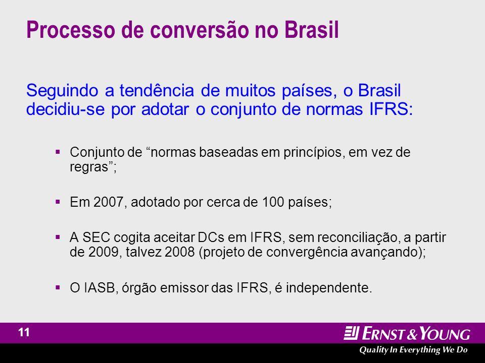 12 Processo de conversão no Brasil Projeto de Lei 3741/2000 – Projeto atualmente na CCJ da Câmara dos Deputados, que não discute mérito.