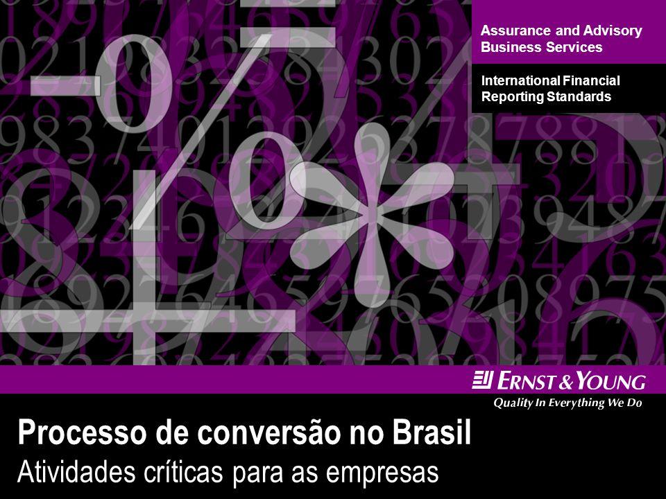 15 Processo de conversão no Brasil Atividades críticas para as empresas Desenvolver diagnóstico formal dos assuntos importantes.